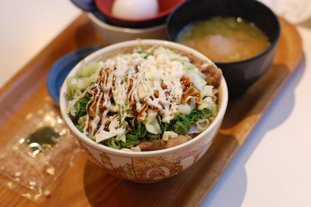 Simpel und Lecker: Reis mit Topping - Donburi.