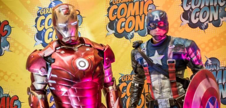 Von Iron Man bis Captain America: Die Photoshoots bei der German Comic Con sind immer ein ganz besonderes Erlebnis.