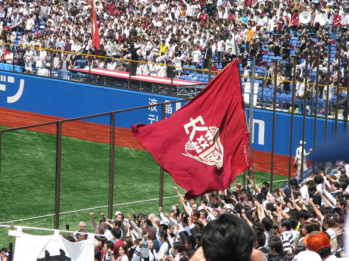 Waseda Flagge