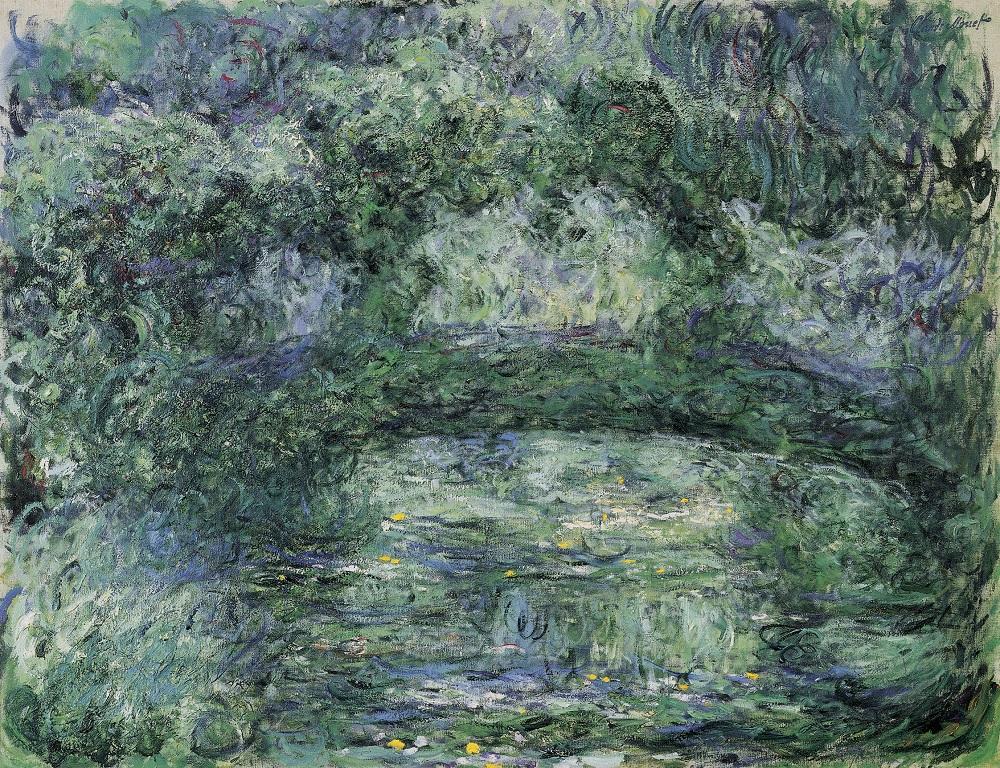 Claude Monet, Die japanische Brücke