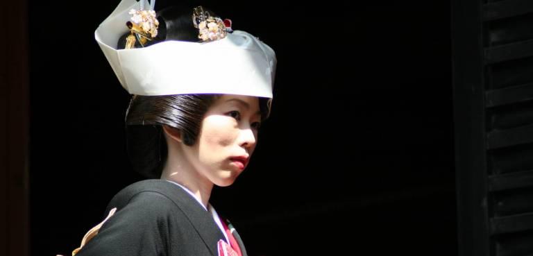 Shintō-Braut