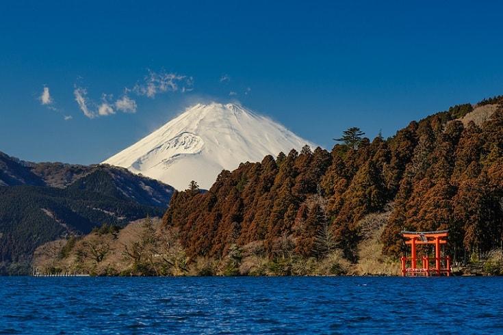 Fuji-san in Hakone