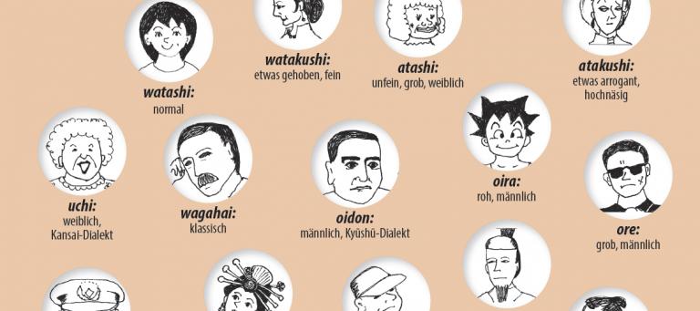"""Ein kleines Wörtchen mit ganz vielen Bezeichnungen: das japanische """"Ich""""."""