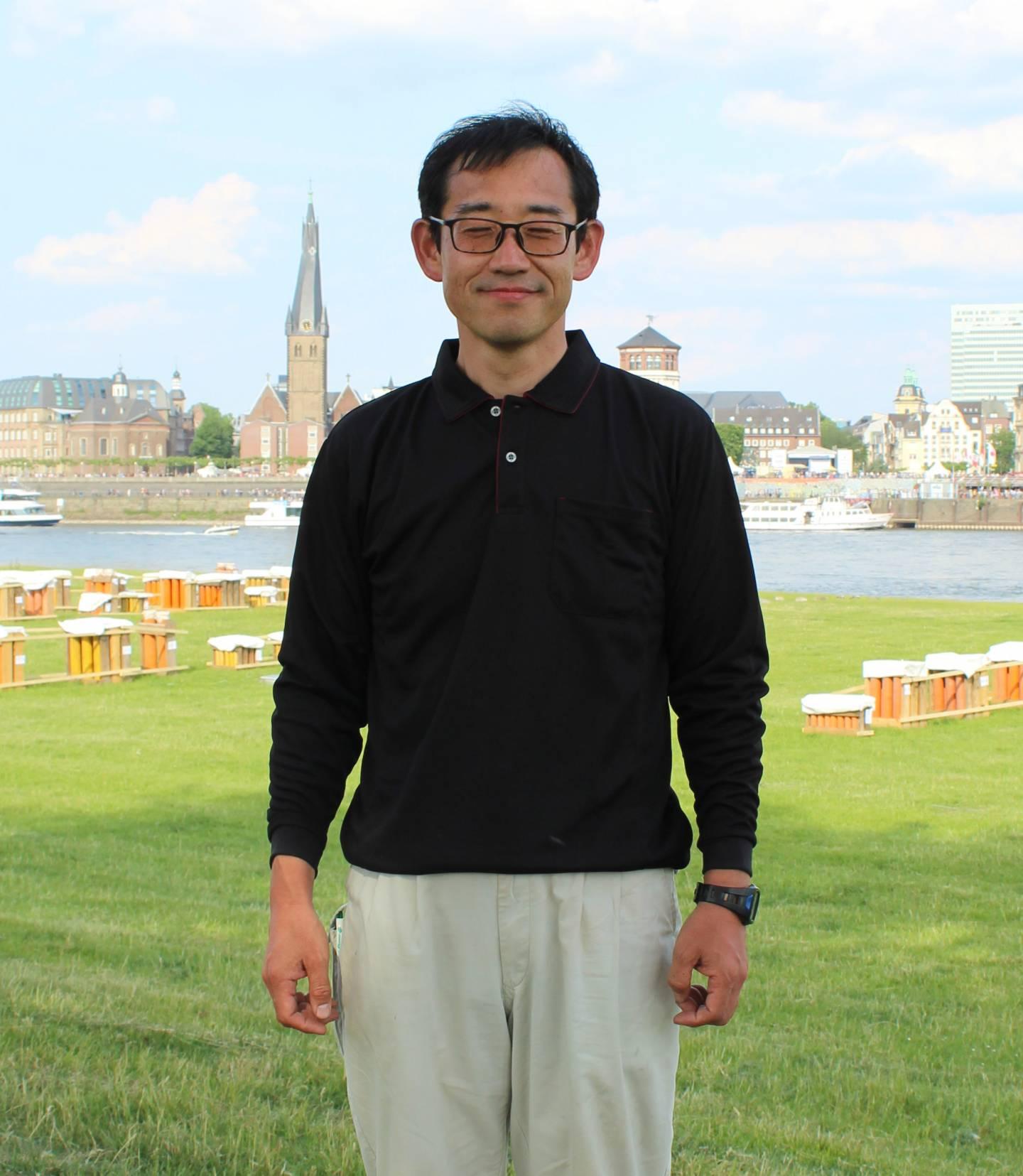 Pyrotechniker Kubota Hideki