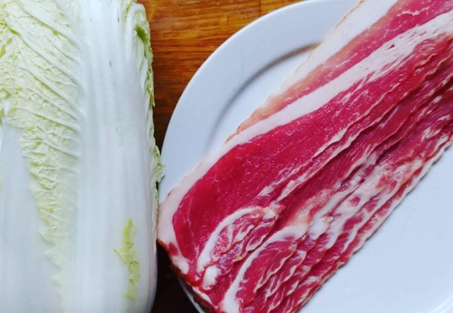 chinakohl bacon miso