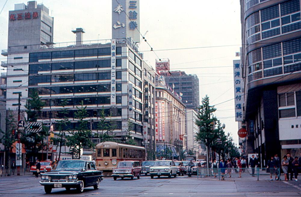 Chūō-Dōri, Tōkyō (1967)