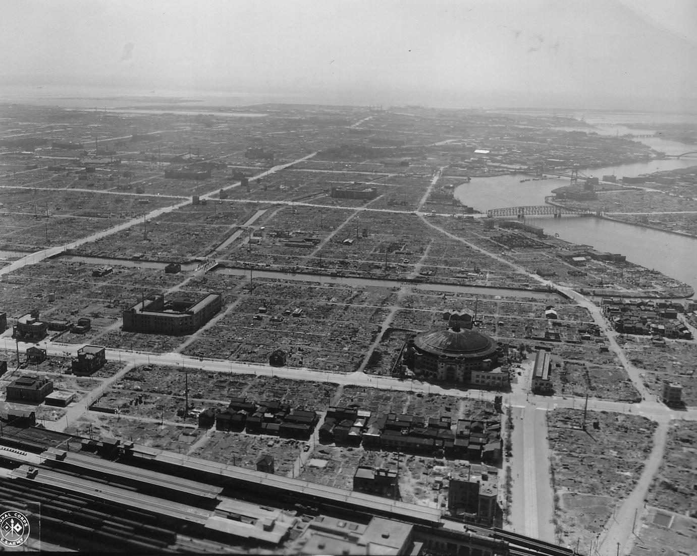 Zerbombtes Tōkyō 1945