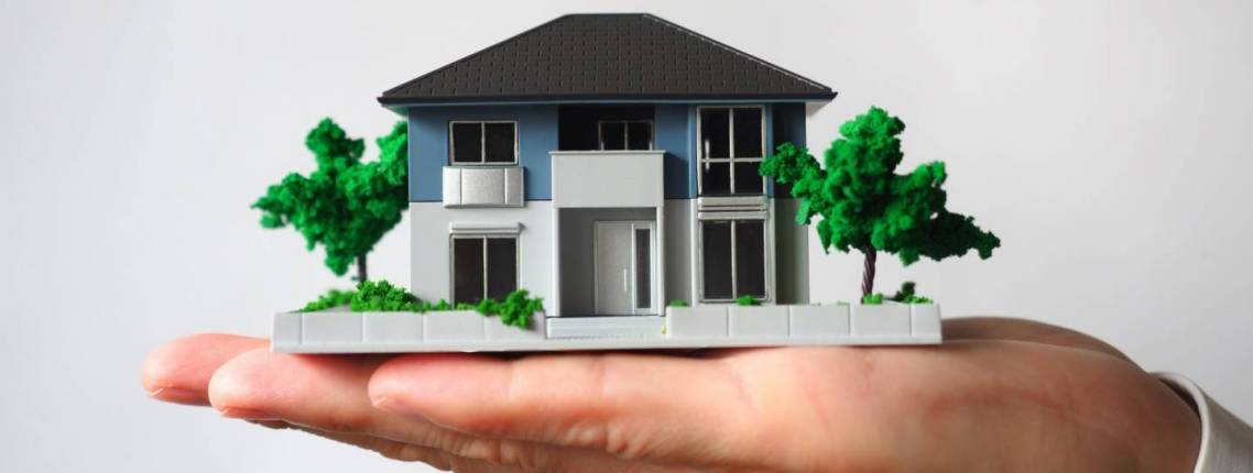 miniatur hausmodell