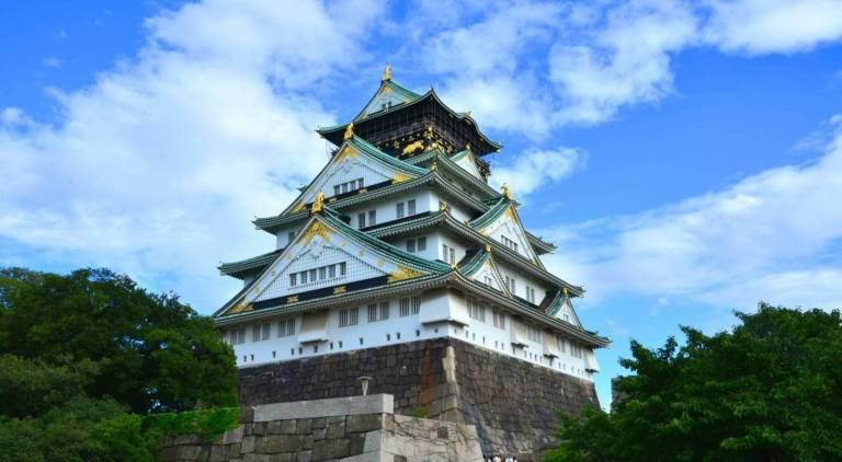 die Burg Osaka