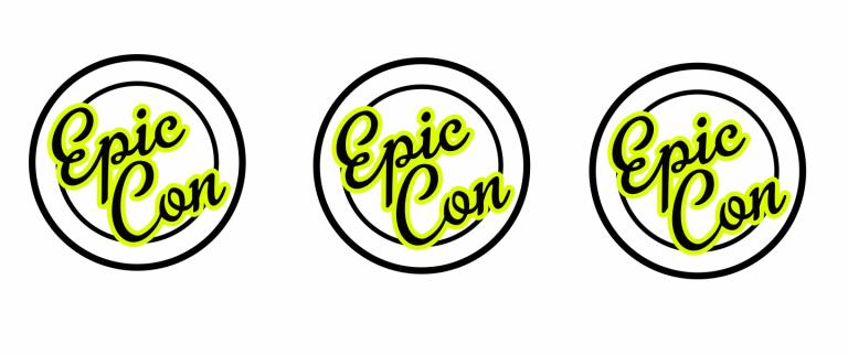 epic con logo