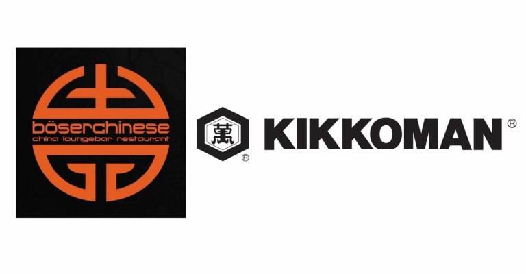 kikkoman, böser chinese logos