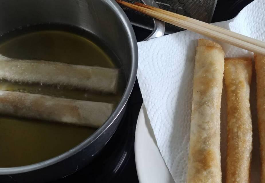 Miso-Sticks heiß servieren