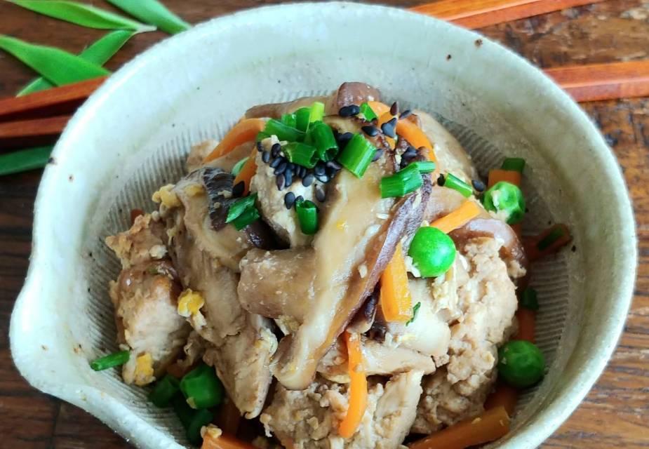 Geröstetes Tofu-Hähnchen-Gemüse