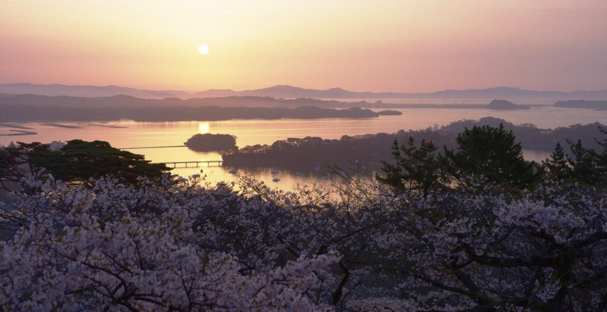 Sonnenaufgang über Matsushima