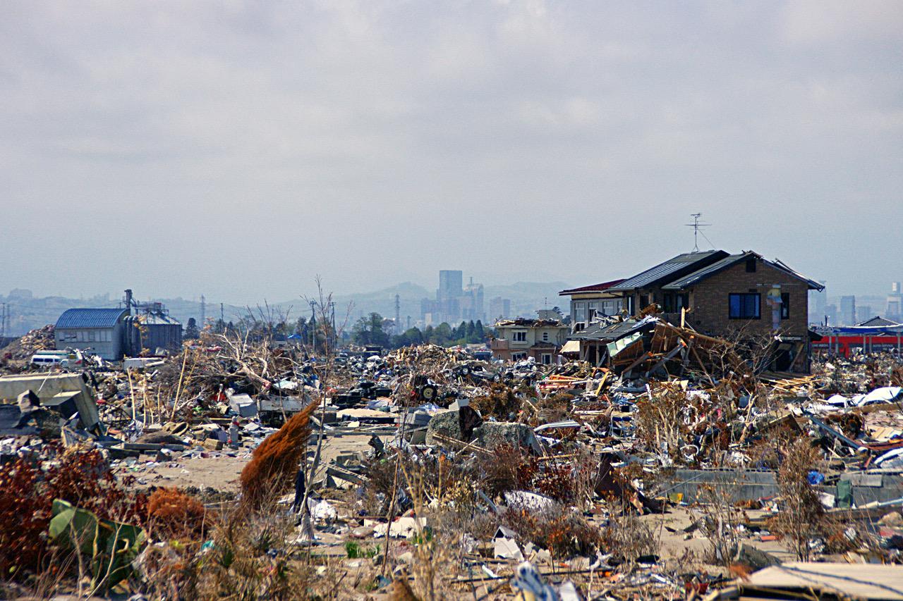 Dreifachkatastrophe in Tōhoku 2011