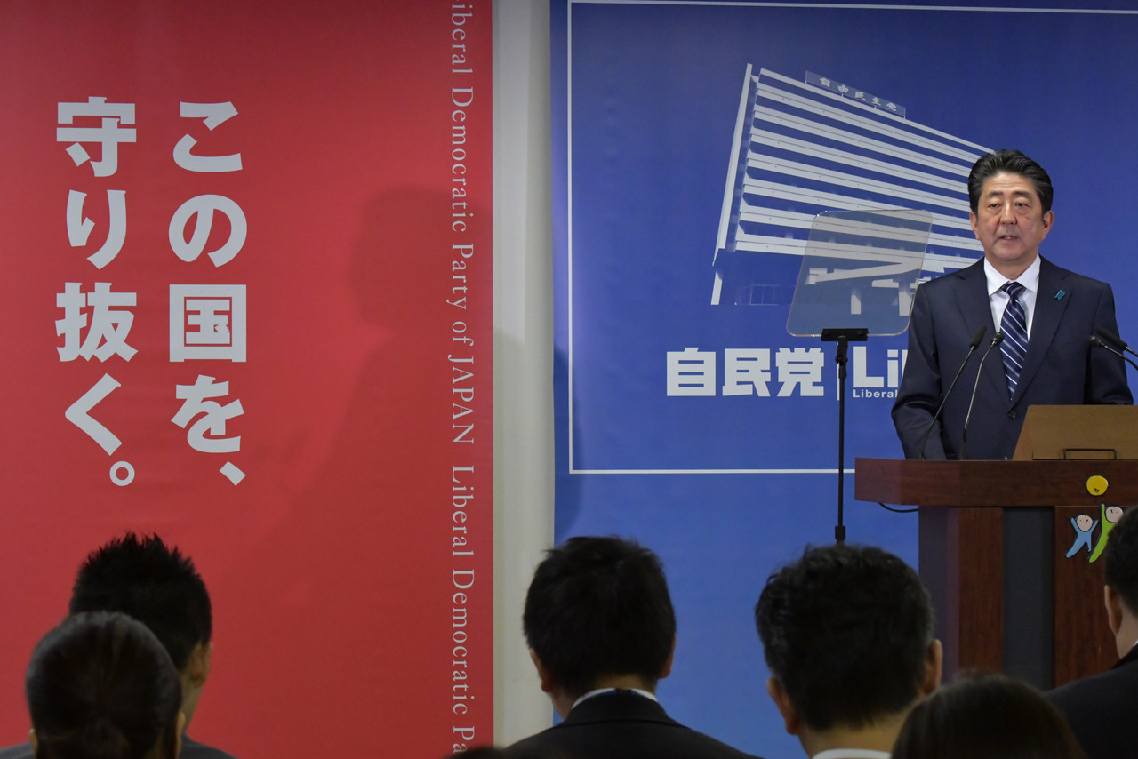 Premierminister Abe