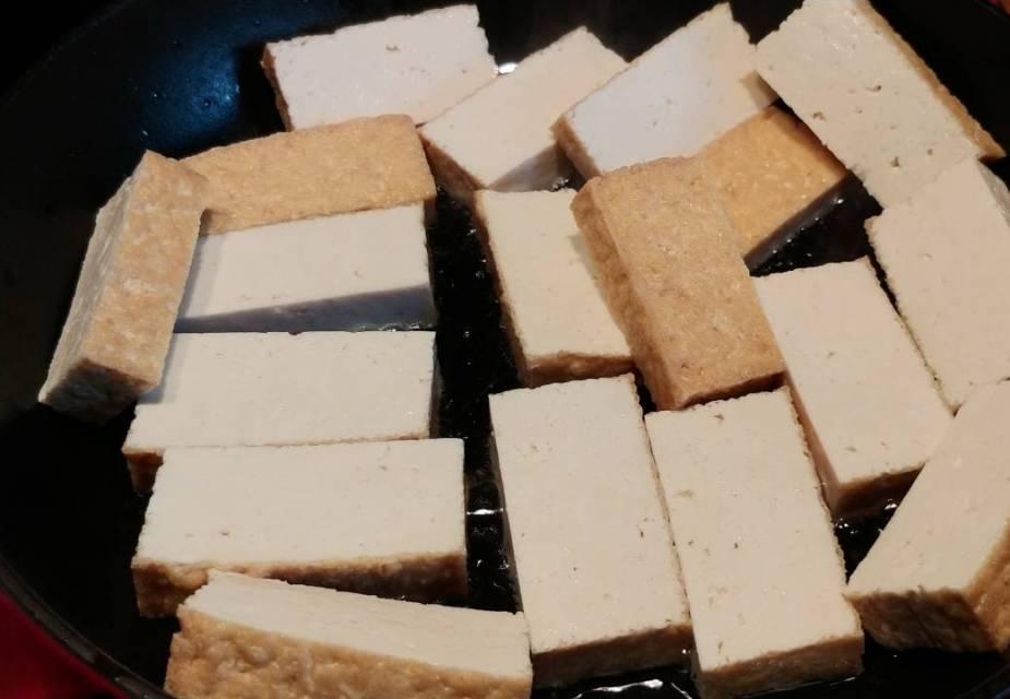 Frittierter Tofu