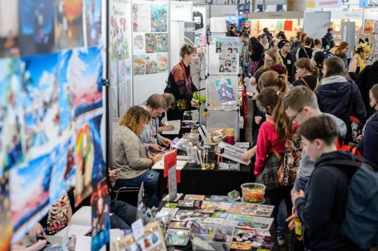 Besucher der Manga Comic Con 2018