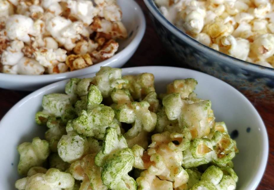 Popcorn mit japanischem Geschmack