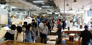 Nagahama Fischmarkt