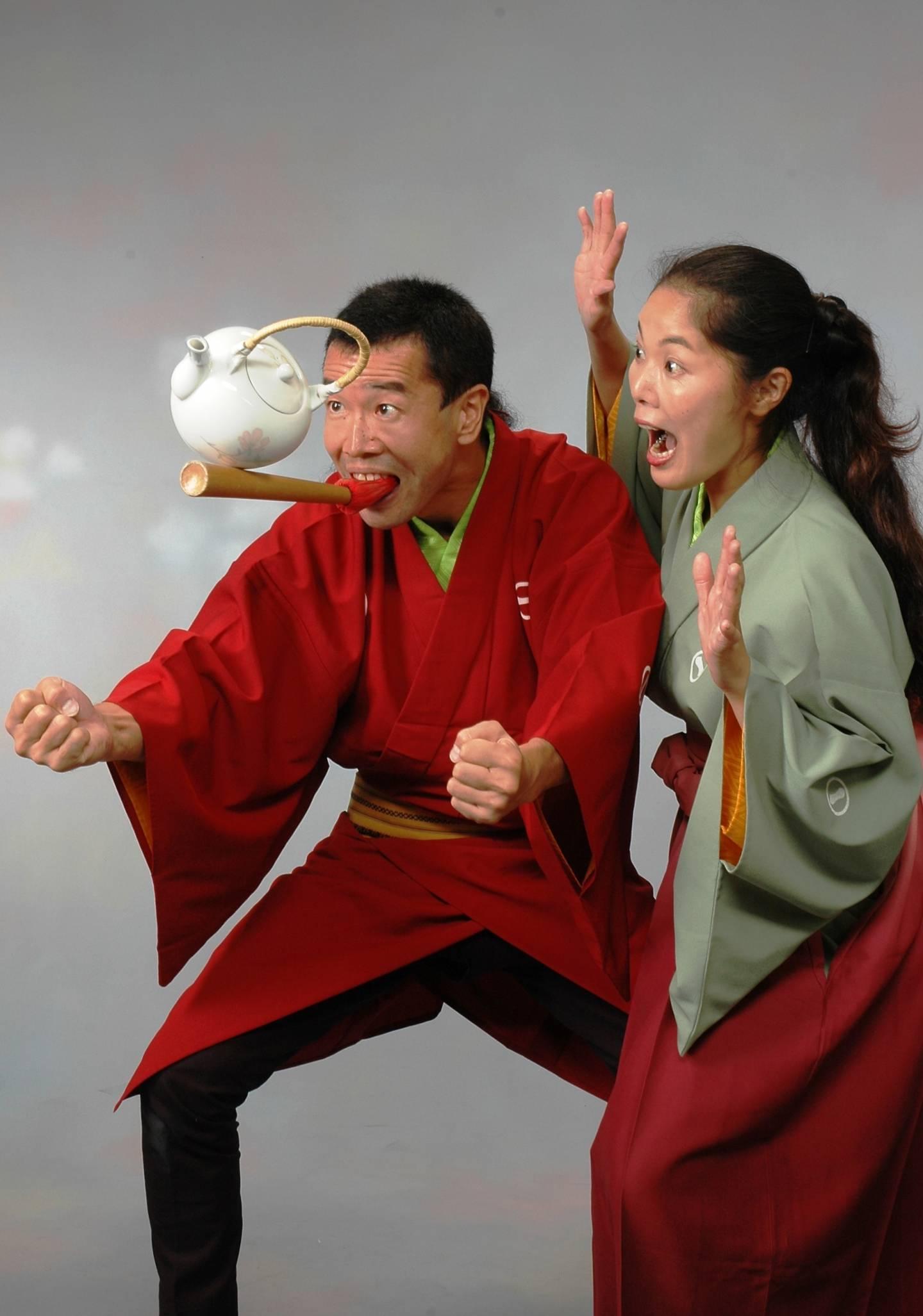 Unterhaltungskünstler Senmaru & Yuki