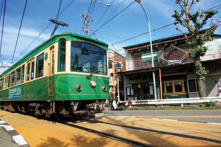 Zug der Enoden Linie