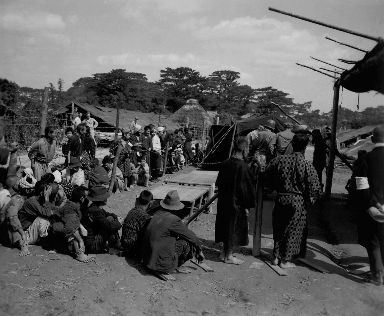 Die Schlacht um Okinawa forderte viel von der Bevölkerung Okinawas.