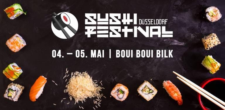 Sushi Festival Düsseldorf Veranstaltungsheader