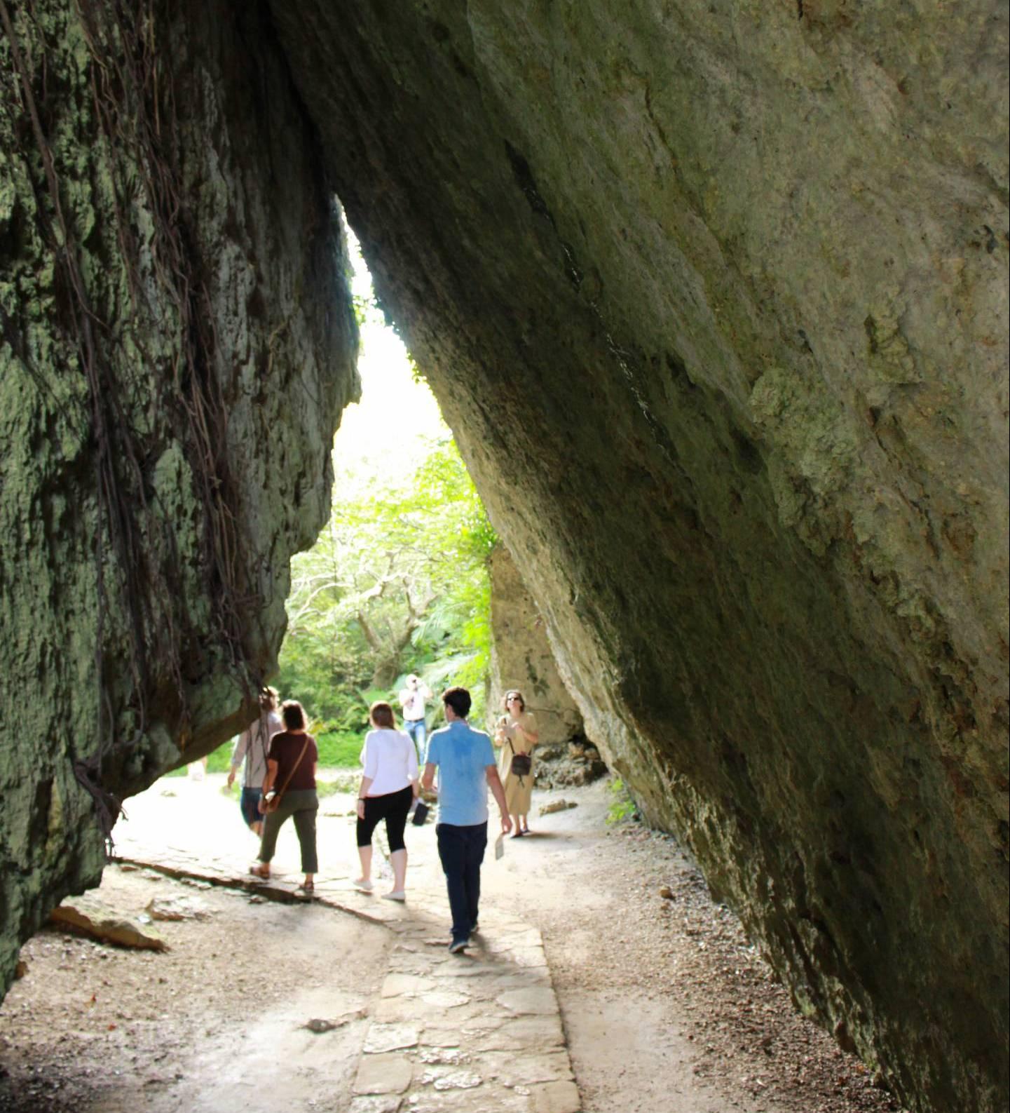 Sēfa Utaki ist eine der heiligsten Stätten der antiken Religion Ryūkyūs.