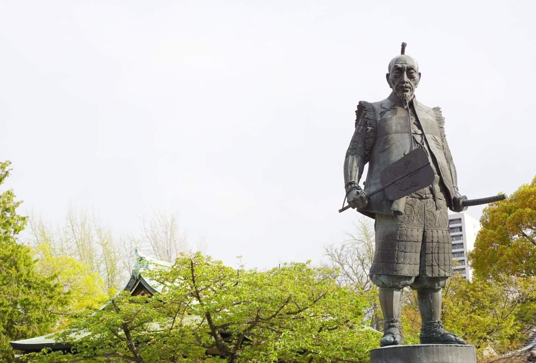 Statue Toyotomi Hideyoshis in Ōsaka