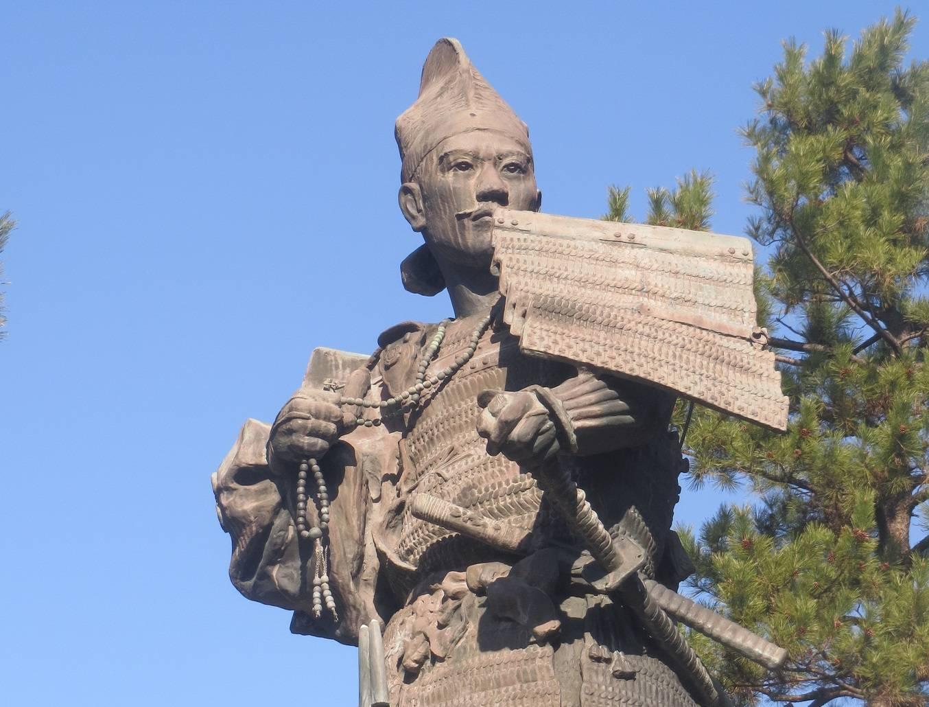 Statue Oda Nobunagas in Nagoya