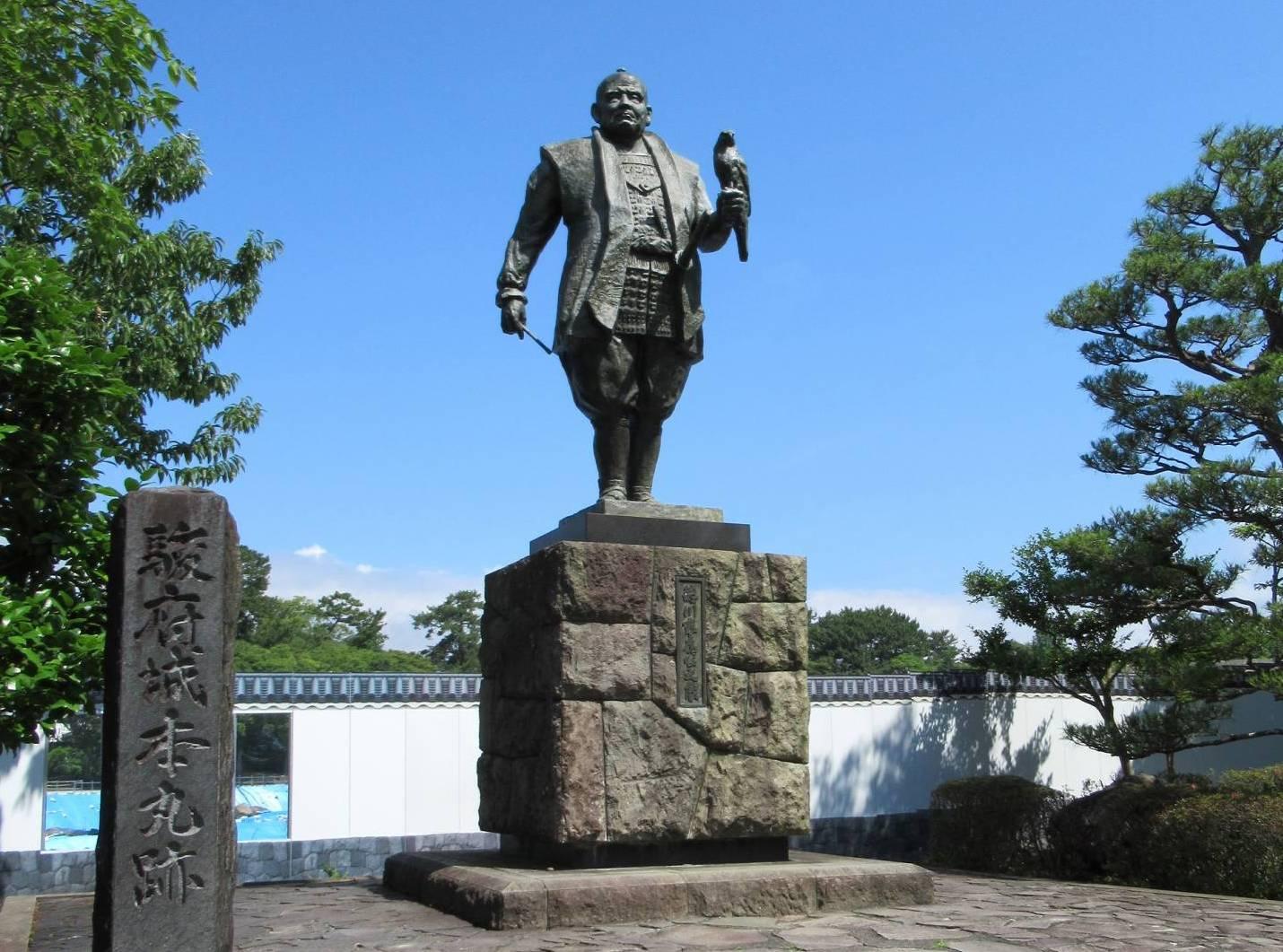 Statue Tokugawa Ieyasus in Shizuoka