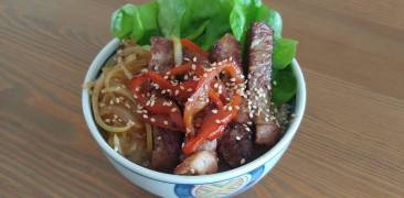 Teriyaki Steak Domburi