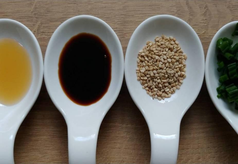 Gewürze für Lachskaviar-Gurke
