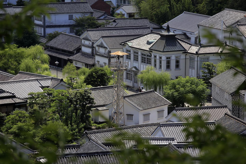 Kurashiki Häuser