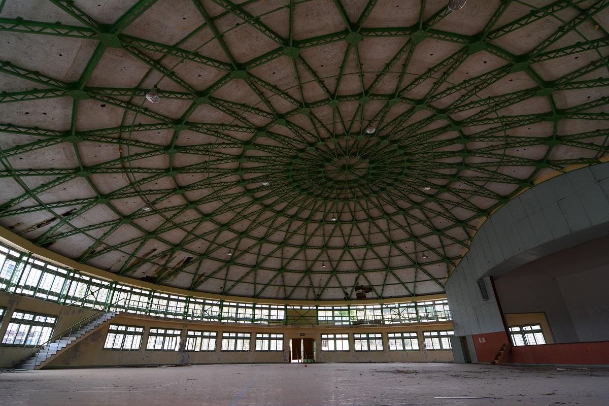 Die Sporthalle der Haboro Schule.