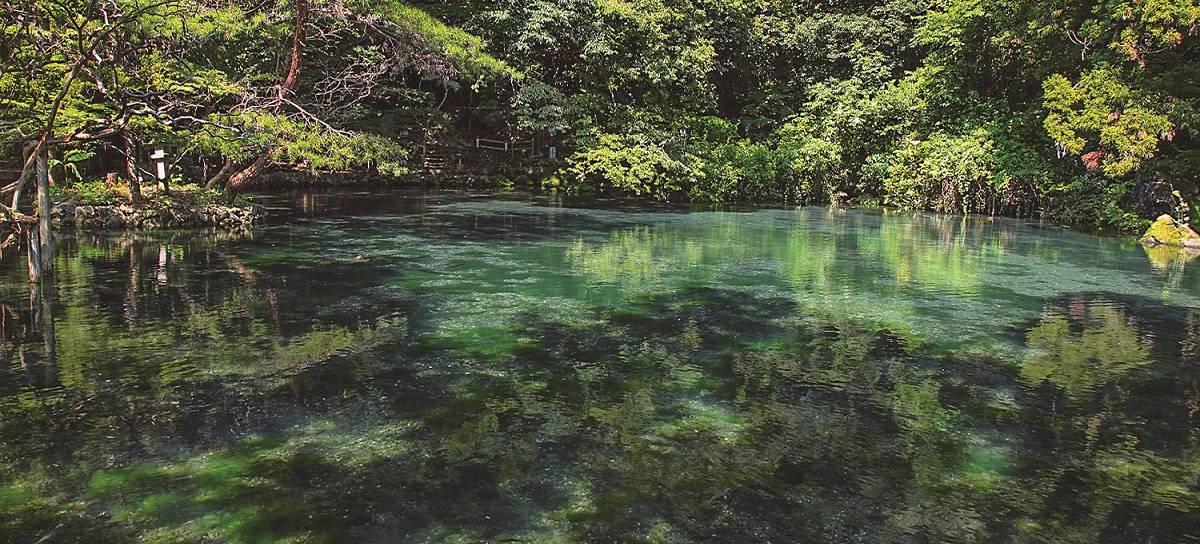 der Izuhara Benten-Teich