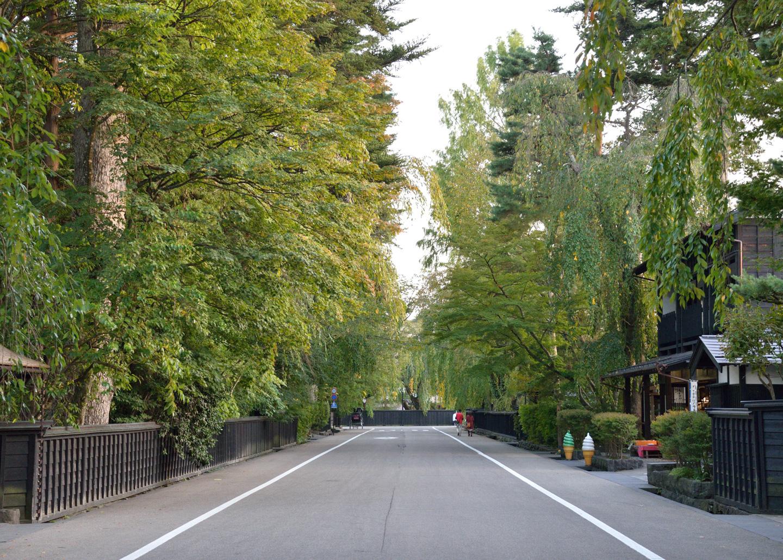 Straße in Kakunodate