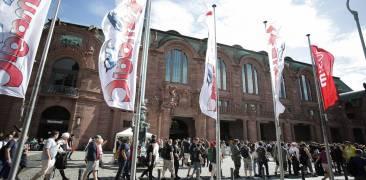 Location der AnimagiC 2019 in Mannheim von Außen