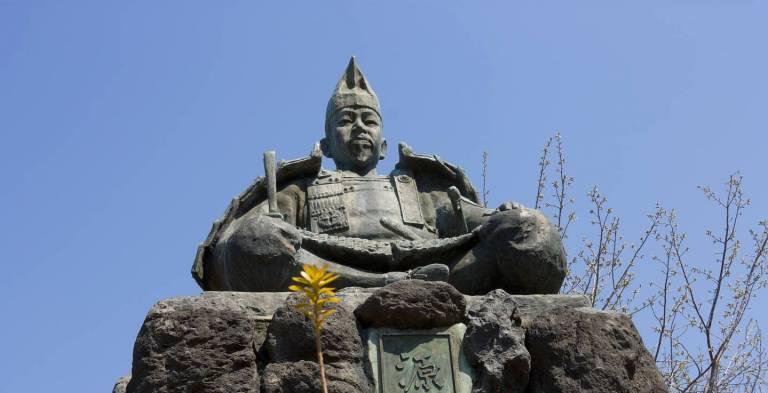 Statue von Minamoto no Yoritomo