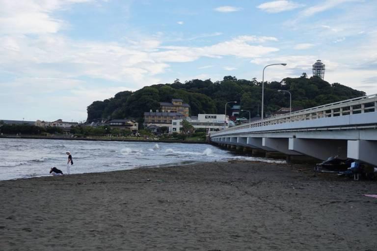 Aussicht auf Enoshima