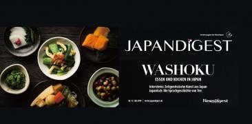 Collage des Zeitschriften Covers der Juli-Ausgabe 2019 von JAPANDIGEST