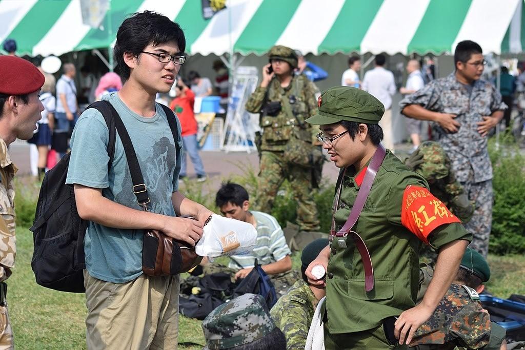 Veranstaltung für Militär-Fans