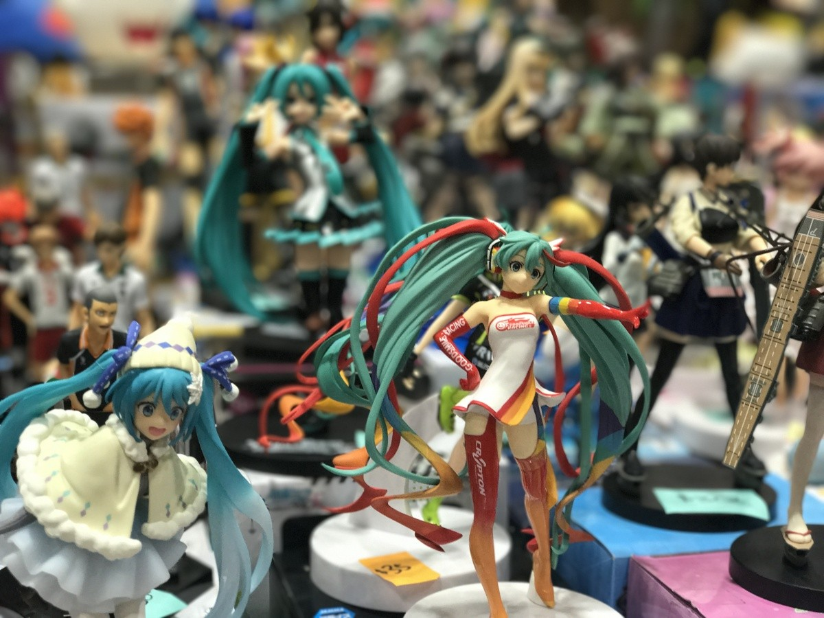 Anime-Figuren-Sammlung