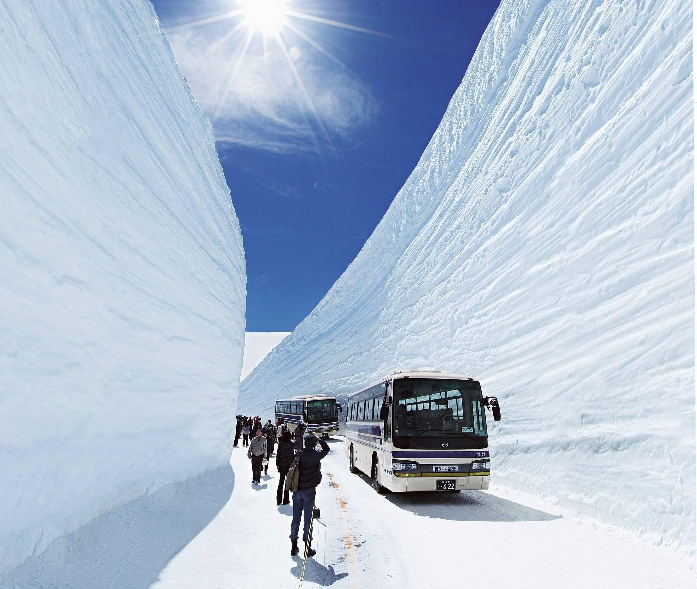 Tateyama Kurobe Alpenpass in Toyama, Nagano