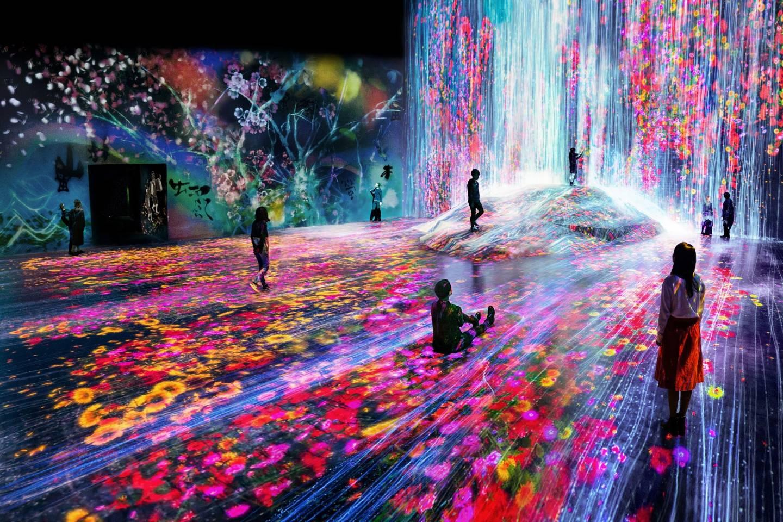 teamLab Borderless: Digital Art Museum Tokyo