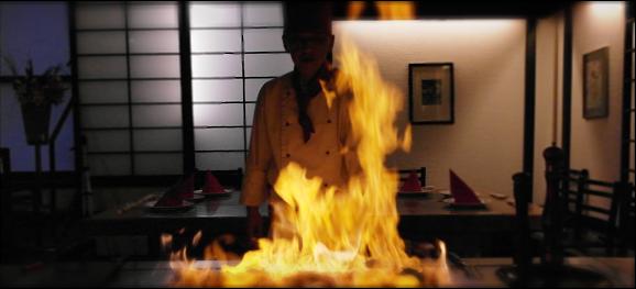 flamme über teppanyaki grill