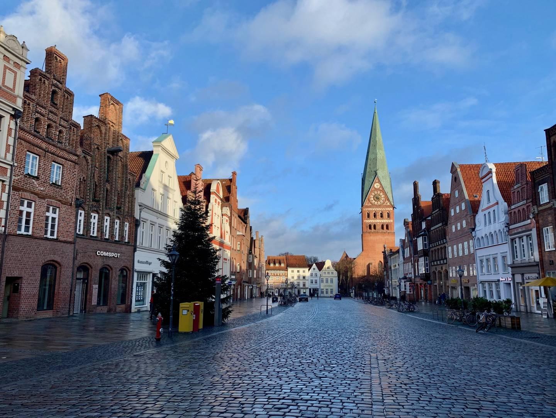Altstadt in Lüneburg