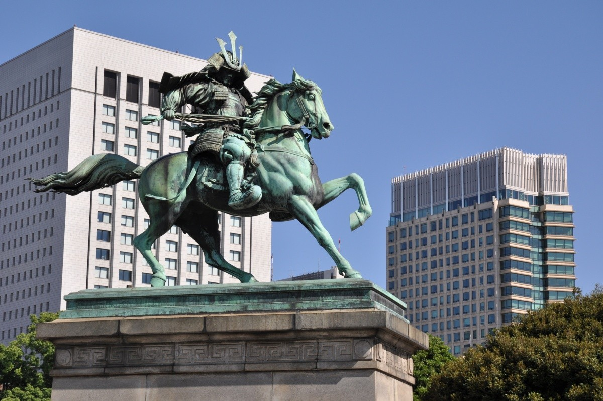 Statue von Kusunoki Masashige
