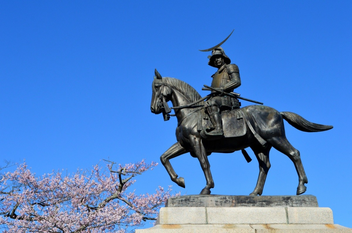 Statue von Date Masamune